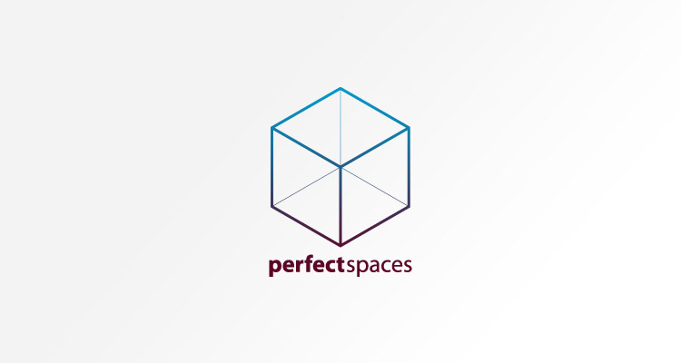 Logo design for Perfect Spaces - kitchen and bathroom fitting company