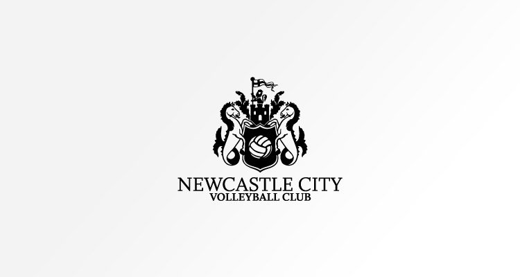 Logo design for Newcastle City Volleyball Club