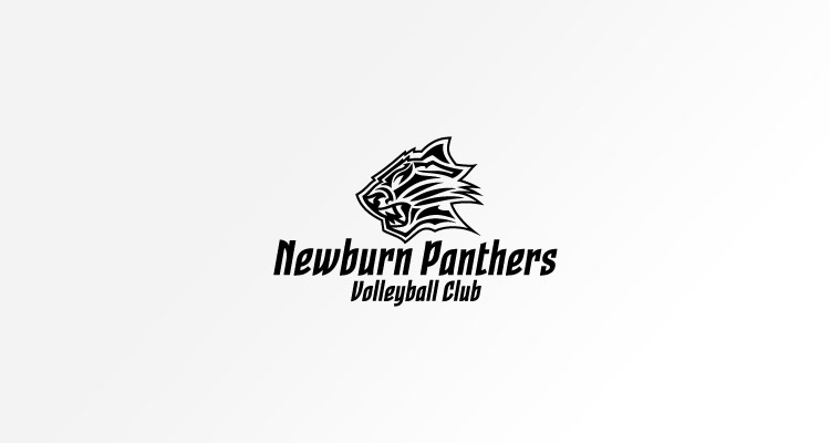 Logo design for Newburn Panthers Volleyball Club