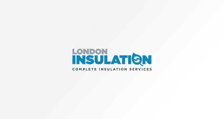Logo design for London Insulation - provider of environmentally friendly insulation solutions