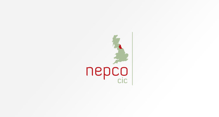 Logo design for NEPCO CIC - North East Polish Community Organisation