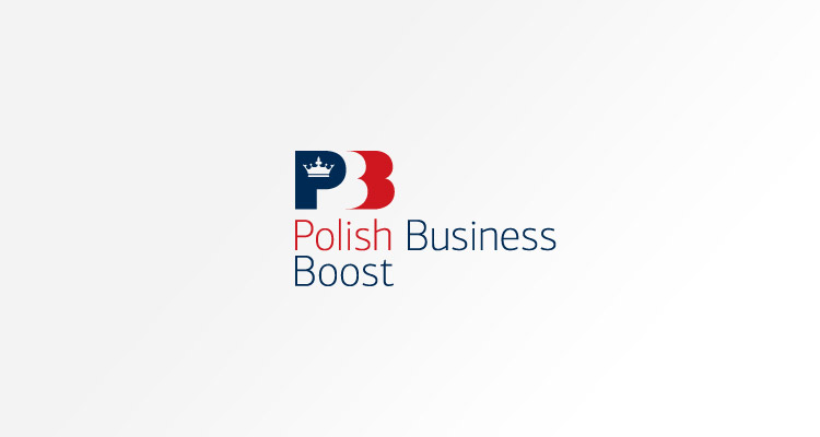 Logo design for Polish Business Boost