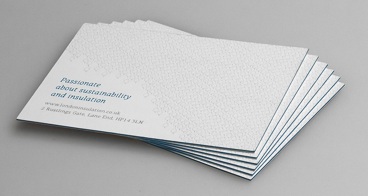 London Insulation - Business card design