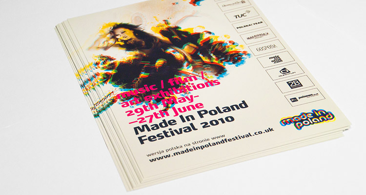 Made in Poland Festival - Leaflets